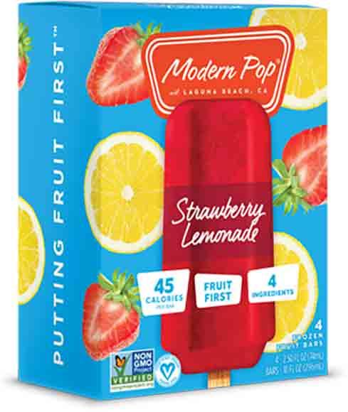 Modern Pops Fruit Bars
