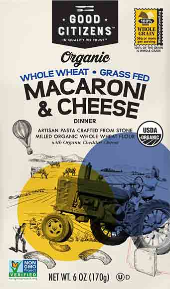 Good Citizens Organic Macaroni & Cheese
