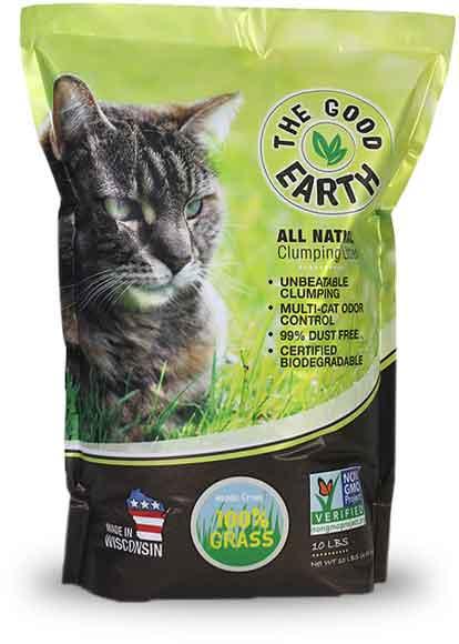 The Good Earth Cat Litter