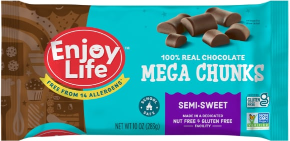 Enjoy Life Chocolate Chunk Chips