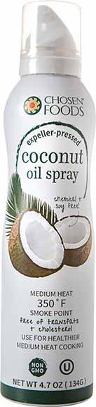Chosen Foods Coconut Oil Spray