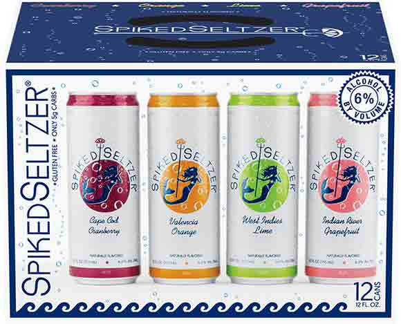 Spiked Seltzer Variety Packs