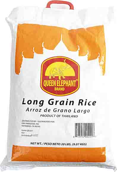 Queen Elephant Long Grain Rice