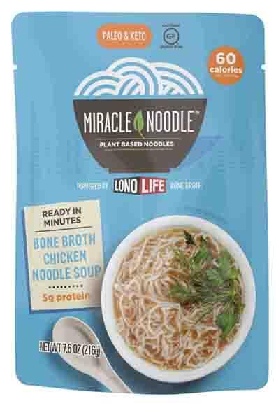 Miracle Noodle Bone Broth Noodle Soup