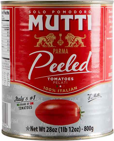 Mutti Tomatoes, Tomato Paste, or Pizza Sauce