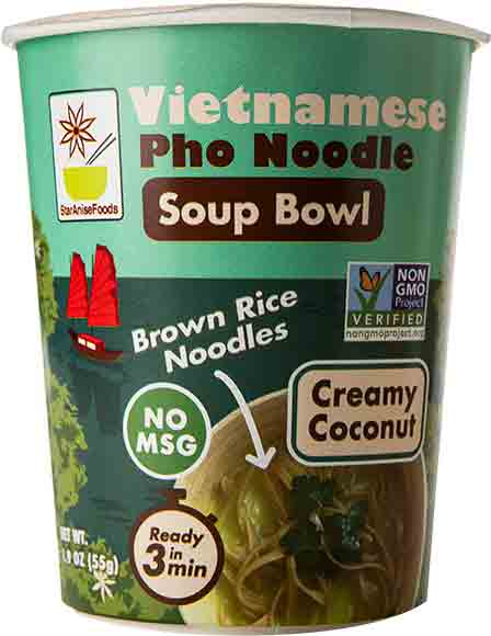 Star Anise Foods Pho Noodle Soup Bowls