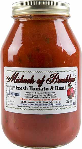 Michaels of Brooklyn Pasta Sauce or Gravy