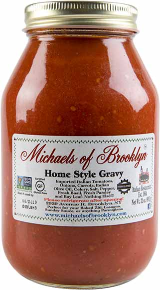 Michaels of Brooklyn Pasta Sauce or Gravy