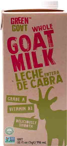 Green Goat Whole GoatMilk