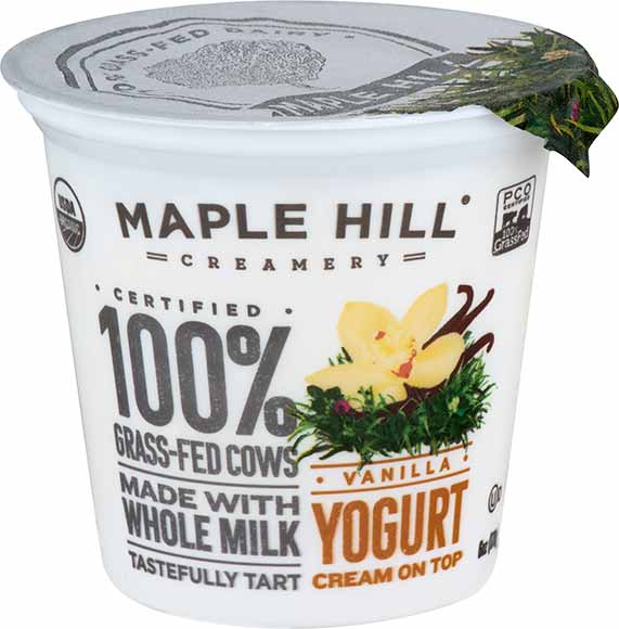 Maple Hill Organic Grass-Fed Yogurt