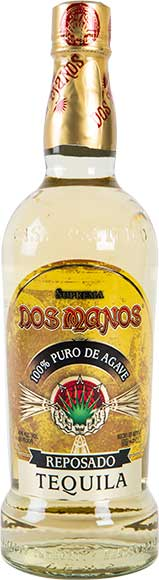 Dos Manos Blanco or Reposado Tequila