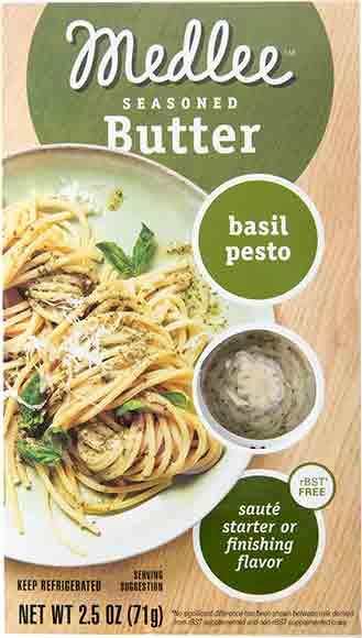 Medlee Seasoned Basil Pesto Butter