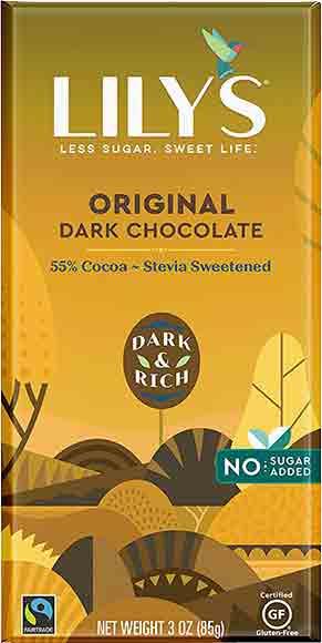 Lily's Chocolate Bars