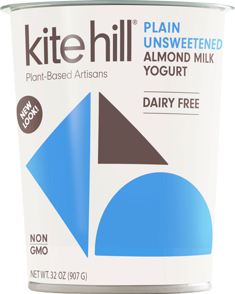Kite Hill Plain Almond Milk Yogurt