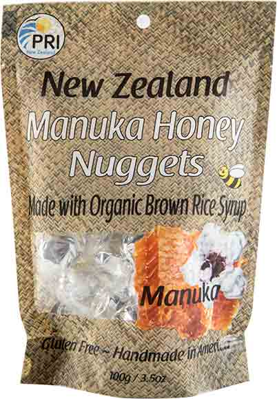 Pacific Resources International Manuka Honey Nuggets