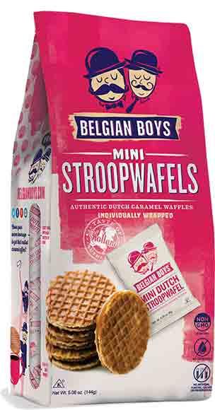 Belgian Boys Stroopwafels or Cookies