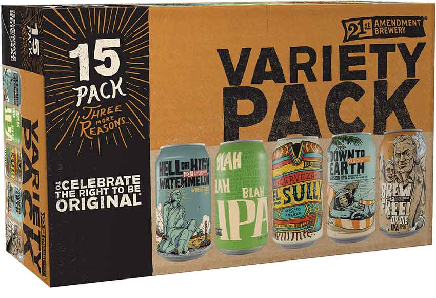 21st Amendment 15-Packs