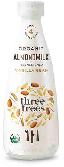Three Trees Organic Unsweetened Almond Milk