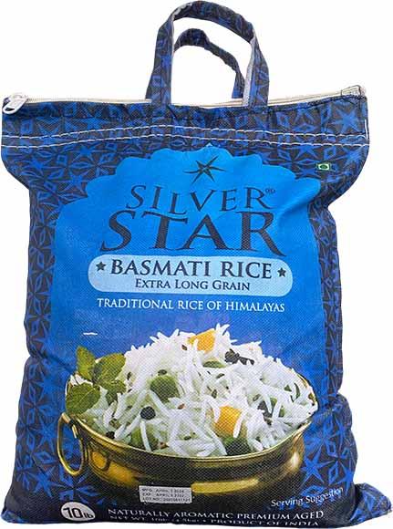 Silver Star Basmati Extra Long Rice