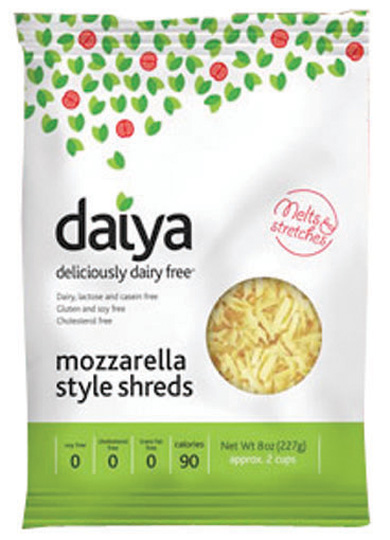 Daiya Shredded Cheeses