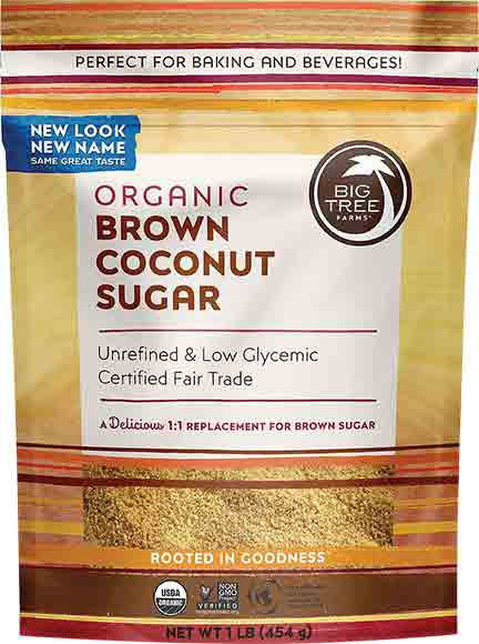 Big Tree Farms Brown Coconut Sugar