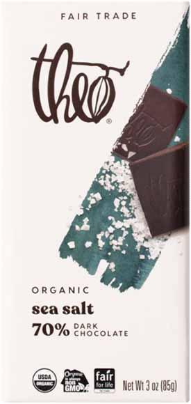 Theo Organic Chocolate Bars