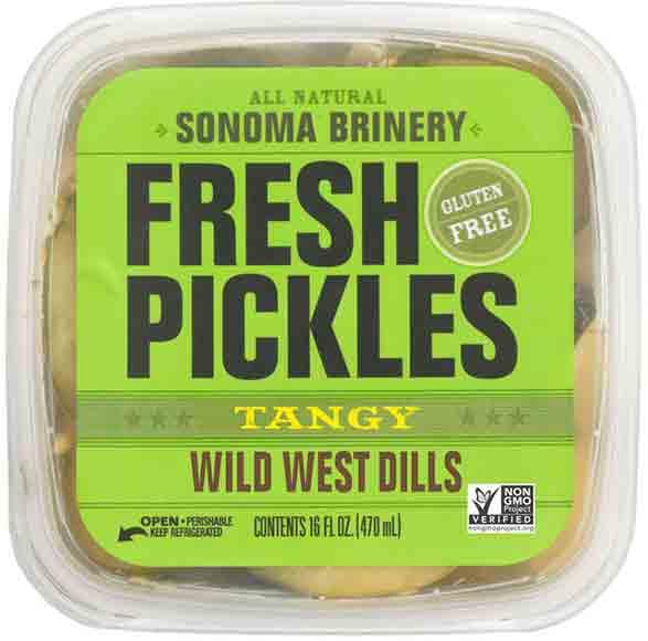 Sonoma Brinery Pickles, Slaw or Sauerkraut