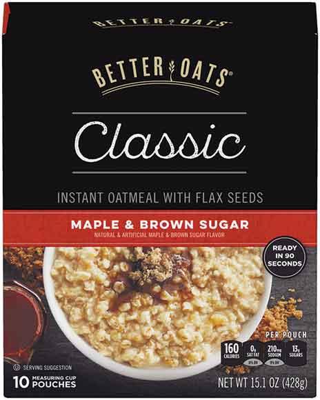 Better Oats Instant Oatmeal