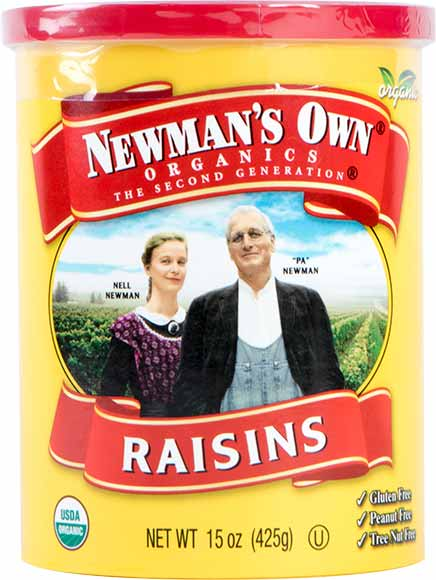Newman's Own Raisins