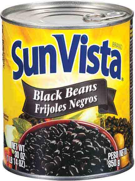 Sun Vista Black or Pinto Beans