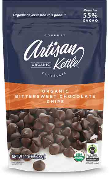Artisan Kettle Organic Chocolate Chips