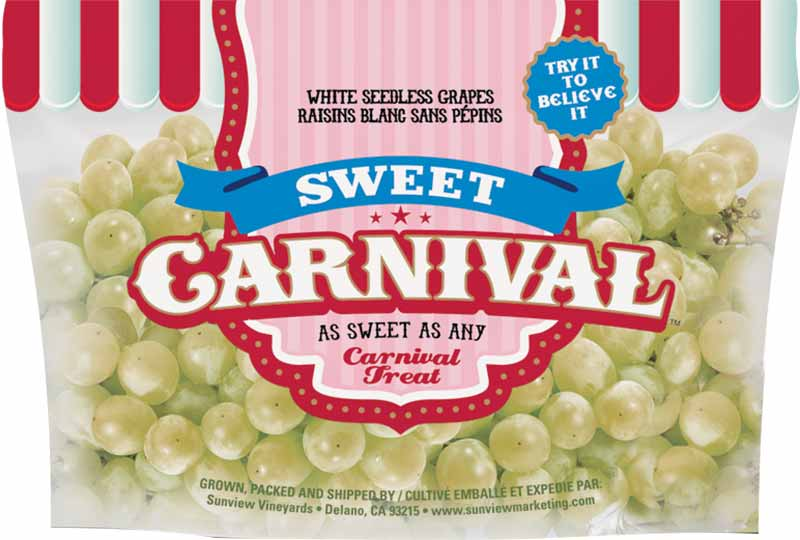 Sweet Carnival Grapes