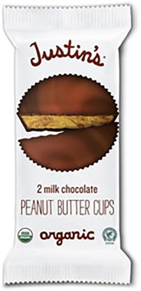 Justin's Organic Peanut Butter Cups