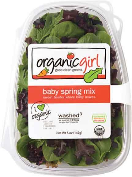 Organic Girl Salad Blends