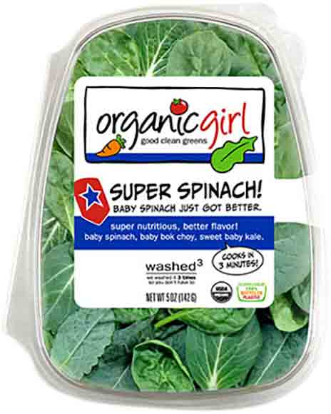 Organic Girl Nutritional Blends and True Hearts Salads Selected Varieties
