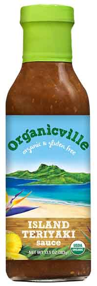 Organicville Sauces, Marinades and Condiments