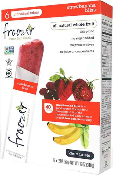 Froozer Frozen Fruit Snacks