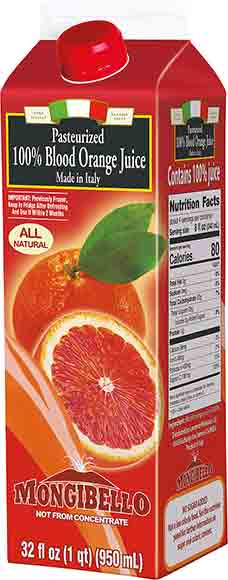 Mongibello Blood Orange Juice