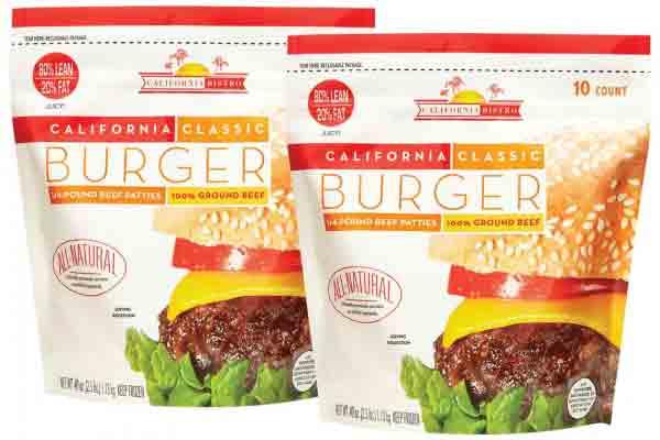 California Bistro Beef Patties