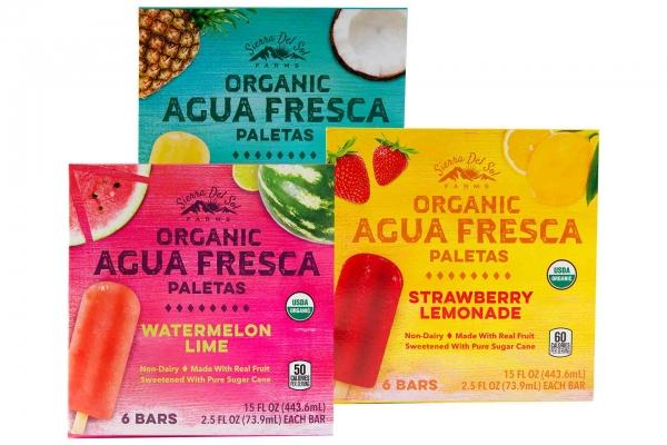 Sierra Del Sol Farms Organic Agua Fresca Paletas