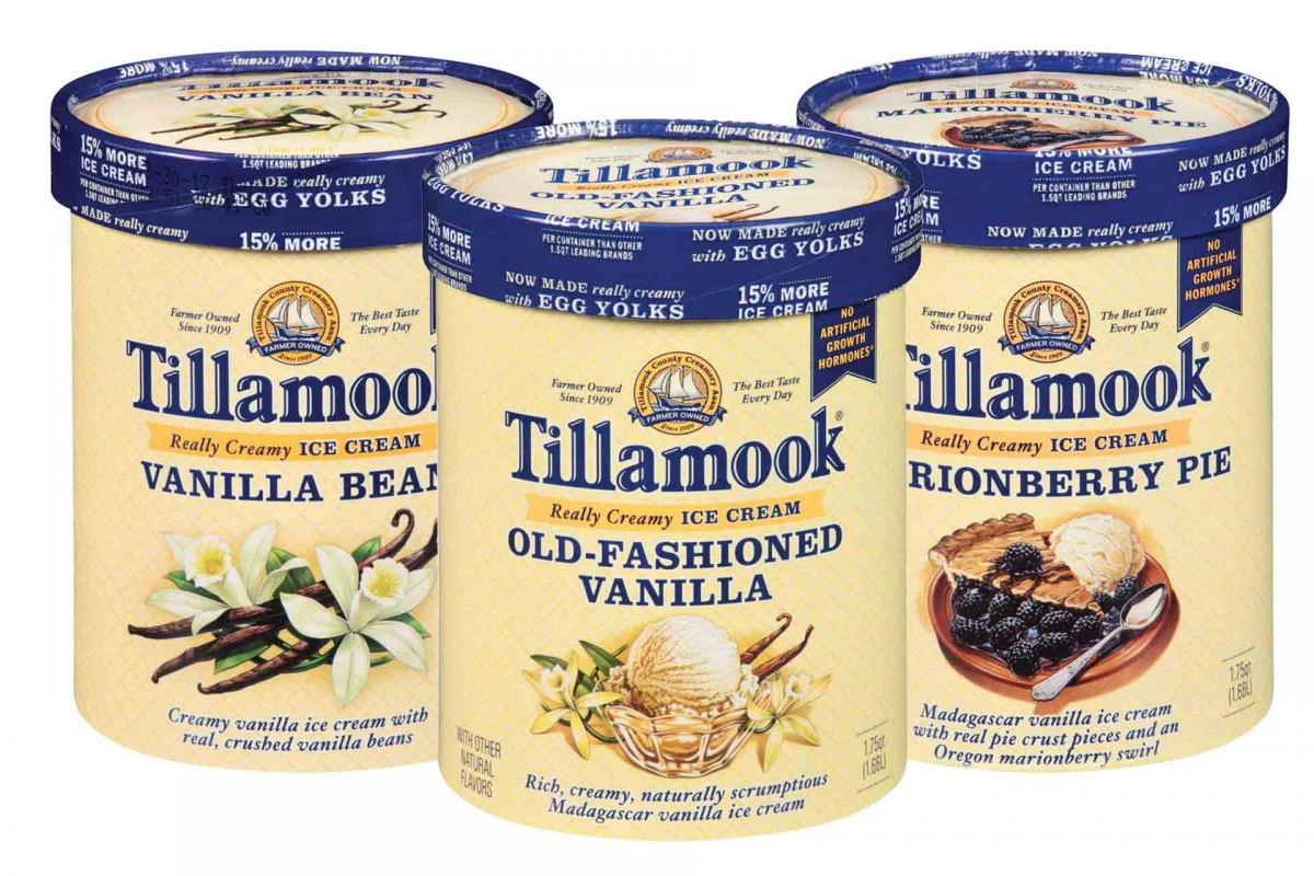 Tillamook Ice Cream on Special at Nugget Markets