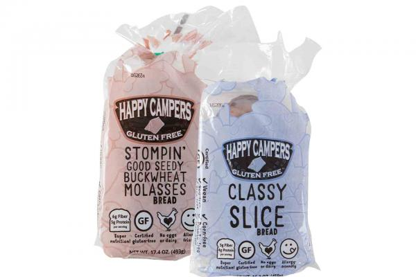 Happy Campers Gluten Free Bread or Buns