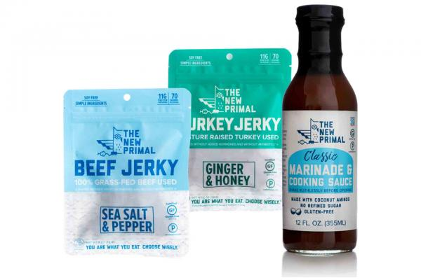 The New Primal Jerky or Marinade & Cooking Sauce