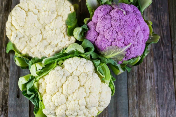 White or Purple Cauliflower