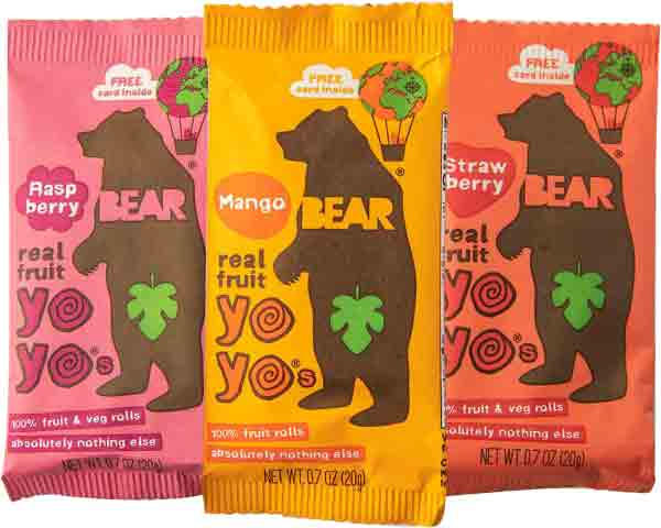 Bear Yo Yo's FruitRolls