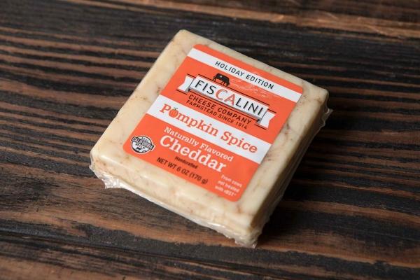 Pumpkin Spice Cheddar