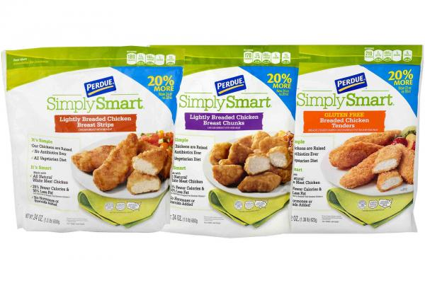 Simply Smart Fully Cooked Frozen Organic Chicken
