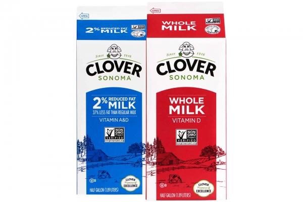 Clover Sonoma Milk