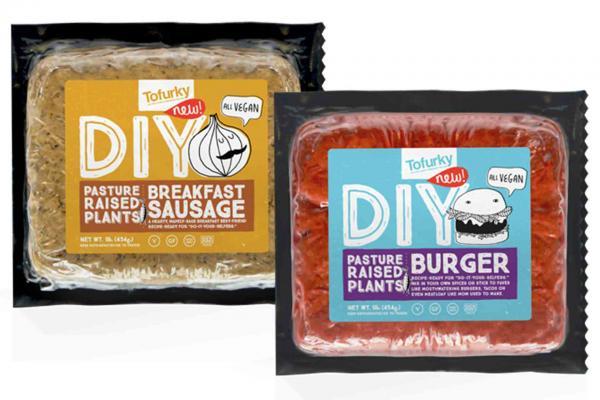 Tofurky DIY Ground Burgers or Breakfast Sausages