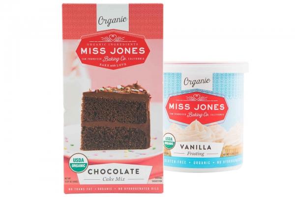 Miss Jones Organic Baking or Frosting Mixes